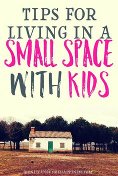 Living in a small space with kids has it's challenges but with the right storage, and a ruthless attitude towards clutter, you can make downsizing with kids a success.