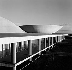 MARCEL GAUTHEROT National Congress, Brasília, DF. Brazil (circa 1960)
