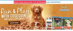 #EntirelyPets Black Friday Sneak Peek 17% off Site Wide Code: SNEAKPEEK3  #dogs #supplements #pets Get Coupon: https://www.couponcutcode.com/stores/entirelypets/