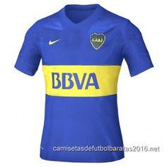 Camiseta de fútbol baratas Boca Juniors 2016 1ª equipación Los Mejores  Jugadores 50e70b59d0afe