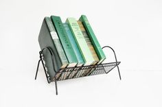 Mid-century Book Rack - Desktop Bookshelf