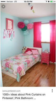Charmant Tween Bedroom Inspiration In Pink, Blue, Aqua, Teal And A Splash Of Black  Zebra. Enjoy! U003do)   Interior/ Exterior   Pinterest   Tween, Pink Blue And  Aqua