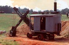 Erie Model B Steam Shovel