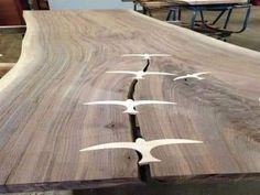 Unique Furniture, Furniture Projects, Wood Furniture, Wood Projects, Furniture Design, Live Edge Furniture, Woodworking Joints, Woodworking Techniques, Woodworking Furniture