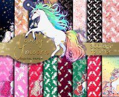 Unicorn Digital paper Glitter Unicorns Lovely Unicorn #digitalpaper #scrapbooking #scrapbook #unicorn #unicornparty #unicornios #unicorns #unicornsarereal #glitter #glitterwallpaper #rainbow #printable #printables #digitalscrapbooking #digitalscrapbook #digitalscrapbookingredients #colorful #magical #magic