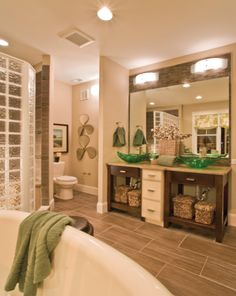 Progress Lighting S Helium Collection Seen In This Fresh Bathroom Two Light Bath Bar With