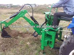 compact tractor 3 point backhoe attachment for sale $500~$1500