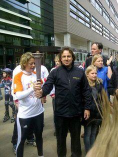 Borsato bij opening van Nationale sportweek in Enschede
