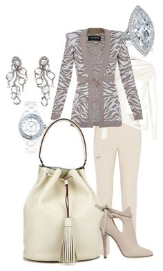 """On Our Bucket List"" by thehandbagmaven ❤ liked on Polyvore featuring Chloé, Donna Karan, Balmain, Jimmy Choo, Saqqara, Chanel, jimmychoo and TheHandbagMaven"