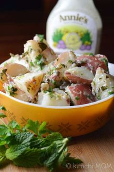 Minty Potato Salad f