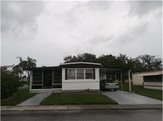 NEW FOR SALE: 4845 Plymouth Dr, Holiday, FL 34690 $30,900 - This single wide mobile has new subflooring and flooring thru out. Indoor washer and dryer hook-up. Great corner location and large enclosed porch with vinyl windows, many up-grades. Located in a very active 55+ community. Low monthly fee of $90 per month: includes lawn service and garbage removal. — My Florida Regional MLS #: W7622084