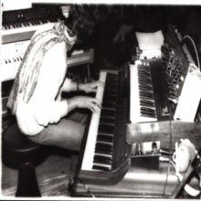 Federico Fantacone on keyboards, late seventies