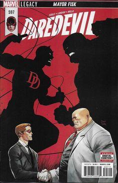 Marvel Daredevil comic issue 597