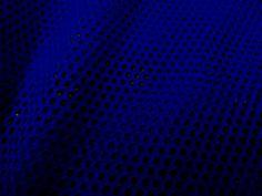 Football Jersey Fabric, Royal Blue Fabric, Open Weave Jersey Knit Fabric #312    $25.00