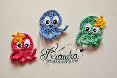 Super cute Octopus free pattern  ✿⊱╮Teresa Restegui http://www.pinterest.com/teretegui/✿⊱╮