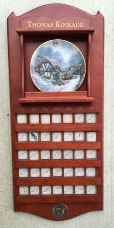 Thomas Kinkade Collector Plates 12 Bradford Exchange
