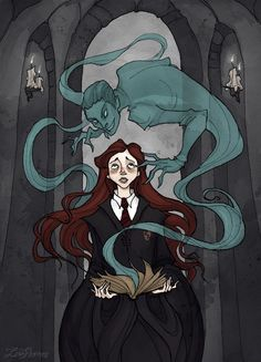 Ginny and Tom Riddle's diary Iren Horrors Art