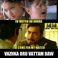 #LOL  #24TheMovie teaser dialogue - Give me My Watch!  For FULL HD Teaser of #24Movie, click here >>> http://www.cinepunch.in/24-movie-official-teaser/