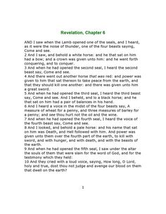 KJV 1611 The book Of Revelations site:pinterest.com | ... by Rebecca Swiger-Sedwick on The Revelation of Jesus Christ | Pin