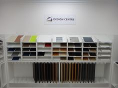 Design Centre @ Essendon - Mix & match colours of doors, benchtops, splashbacks & handles to find your perfect match for your custom made kitchen.