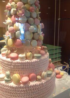 Macaron Cake at Hotel Okura Tokyo
