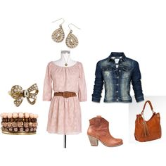 Cowgirl Chic, created by amybwebb on Polyvore