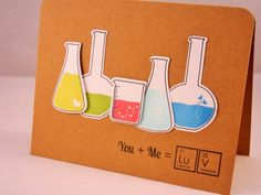 Geeky Valentine Card, I Love You Card, Anniversary Card, Geekery, Geek Card, Nerd Card