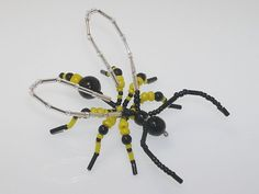 Beaded Wasp #201 - Beadlebugs
