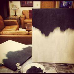 diy art... easy, and i like it