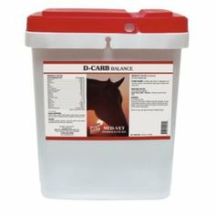 D-Carb Balance - 35 lb (140 days) by Med-Vet Pharmaceuticals. $159.75. Use if feeding with little or no grain.. New improved formula aids in carbohydrate and glucose metabolism for insulin-resistant horses. In insulin resistance, instead of providing energy to the cells, energy is stored as fat, causing fat pockets and cresty necks. D-Carb also provides calcium, phosphorus, vitamins, trace minerals and magnesium to prevent deficiencies. Chromium has been added, as mag...