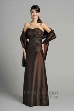 A-line Sweetheart Floor-length Taffeta Bridesmaid Dresses 14305317