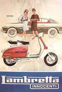 Lambretta advertisement.