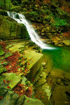 There are secret gardens, and then there are secret gardens ponds and waterfalls…