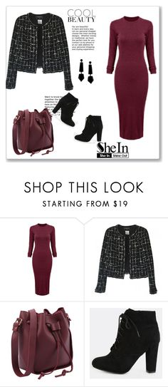 """SheIn 3/II"" by hedija-okanovic ❤ liked on Polyvore featuring Chanel, Emporio Armani and shein"