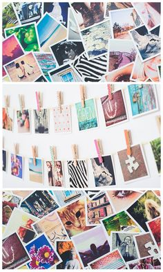 These cool square prints can be made with photos from your Instagram, camera-roll or desktop. A nice idea for christmas gifts! And they do free delivery worldwide.