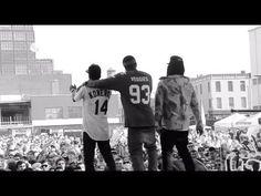 Rockie Fresh w/ Casey Veggies  Ty Dolla $ign @ Mad Decent Block Party