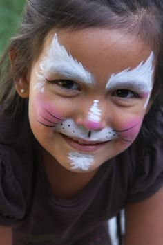 facepaint simple | Re: Tiger and Cat Faces!