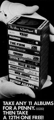It's a Steal! How Columbia House Made Money Giving Away Music | Mental Floss, pop culture