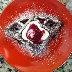 Chocolate Spelt Waffles IMG_6381 - Version 2