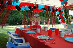 good website to show different ideas for a Olivia Themed party