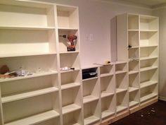 Hometalk :: Ikea Billy Bookcase Hack
