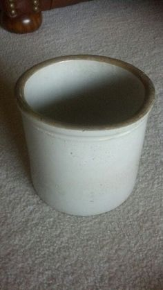 1 gallon stoneware crock.