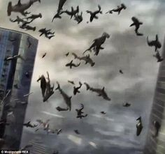 Syfy orders THIRD Sharknado as it preps to release second TV film ...