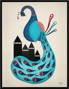 Poster - Peacock