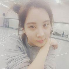 151118 Seohyun @ Instagram。(via seojuhyun_s)『#3daystillphantasia #소녀시대콘서트 3일남았어요오오오지금은연습중~~홧팅!!!!!쫌만기다려줘요♡』