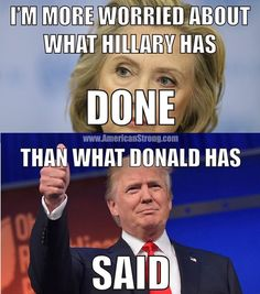He's not the only one who's said bad things either... hillary has said plenty... but her biased media just won't report  on it for weeks on end !!!! We really don't have journalists anymore, we have paid gossip deliverers!!!  Patriots Who Dare... Join our fight to save America! Click Here http://bb4sp.com/ #BB4SP
