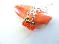 Swarovski Crystal Fancy Fall Harvest Pumpkin by pnljewelrydesigns, $14.00