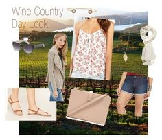 """""""Wine Country Day Look 2"""" by dicey828 on Polyvore featuring Forever 21, H&M and country"""