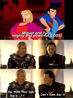 funny thor and loki pics | Mighty and powerful coincidence... - The Meta Picture