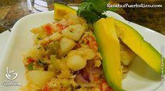 Gazpacho de Bacalao